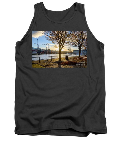 Tank Top featuring the photograph Bristol Harbour by Colin Rayner