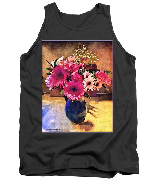 Brithday Wish Bouquet Tank Top