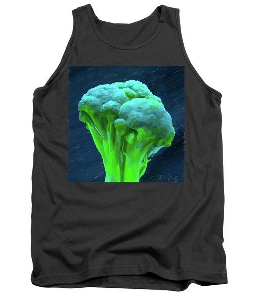 Broccoli 01 Tank Top by Wally Hampton