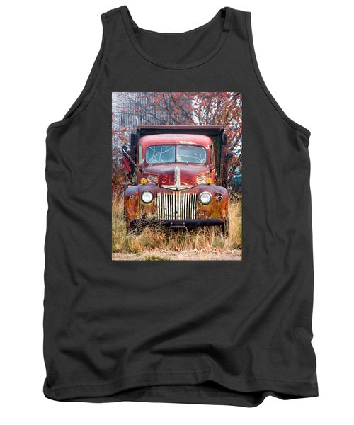 Old Abandoned Truck Tank Top
