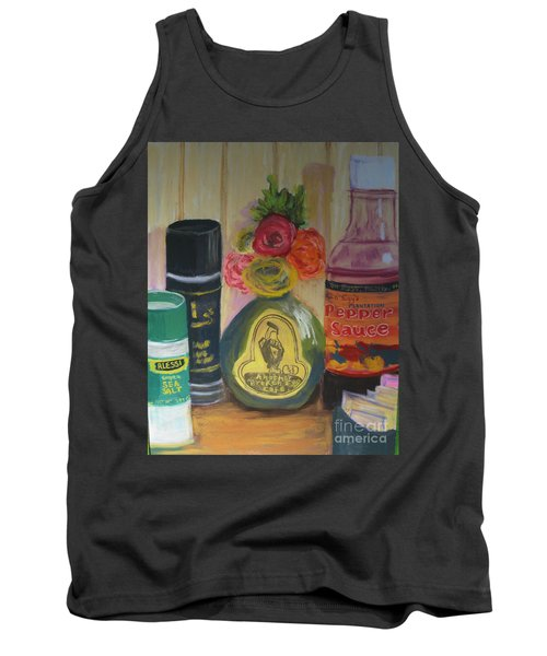 Broken Egg Tableart Tank Top