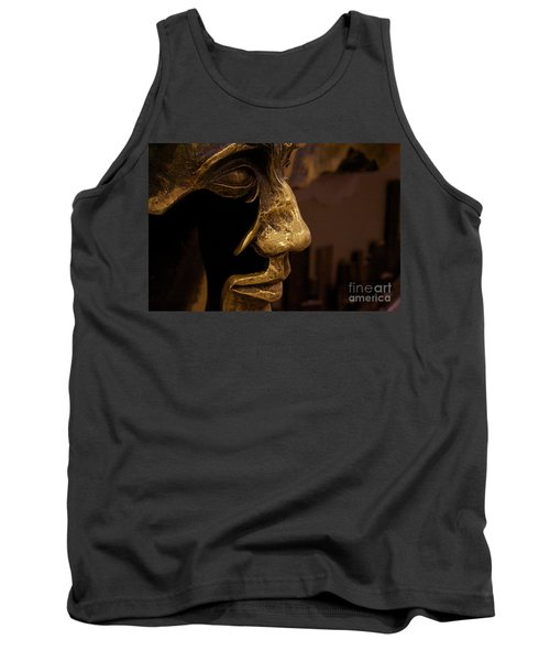 Broken Face Tank Top by Xn Tyler