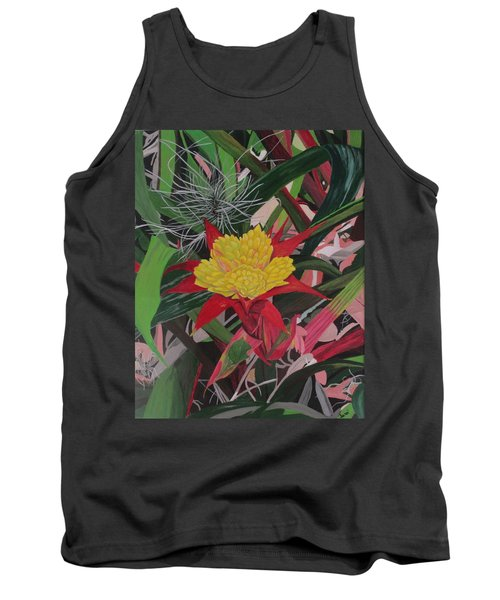 Bromelaid And Airplant Tank Top