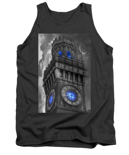 Bromo Seltzer Tower Baltimore - Blue  Tank Top
