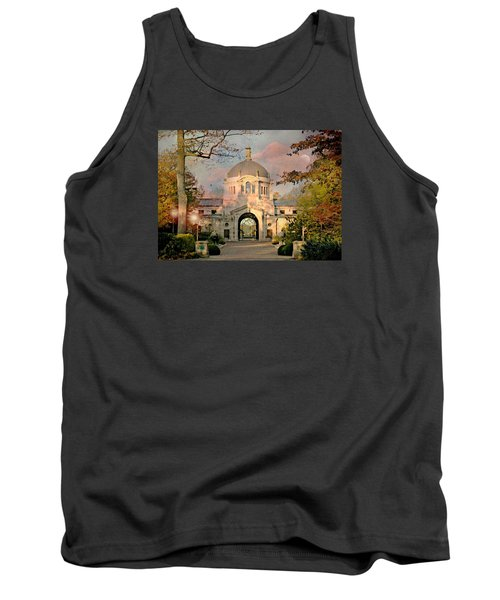 Bronx Zoo Entrance Tank Top by Diana Angstadt