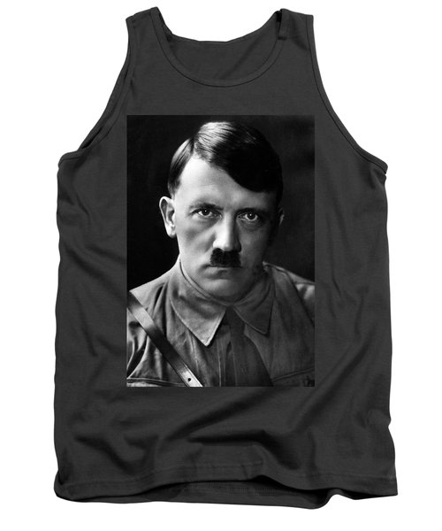 Brooding Portrait Of Adolf Hitler Heinrich Hoffman Photo Circa 1935 Tank Top
