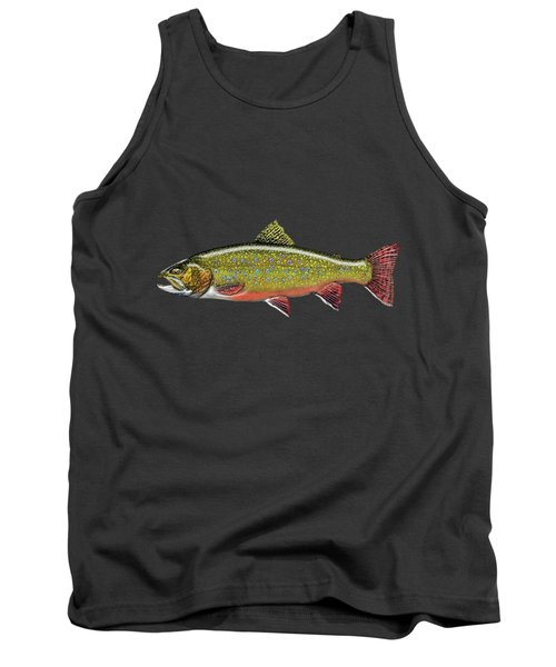 Brook Trout Tank Top by Serge Averbukh