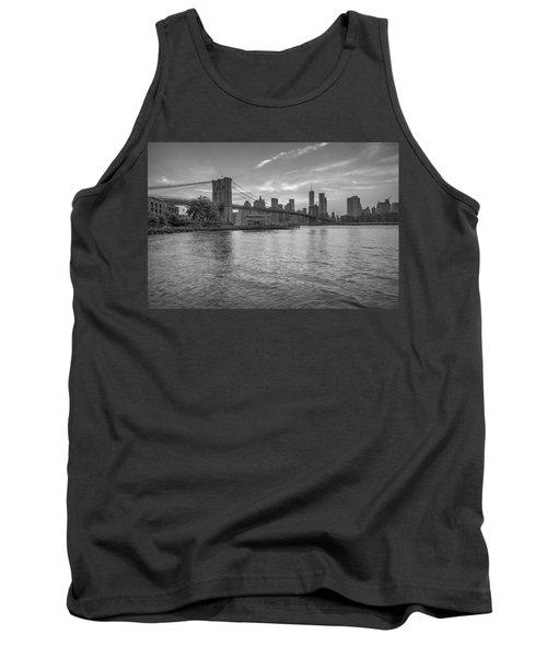Brooklyn Bridge Monochrome Tank Top