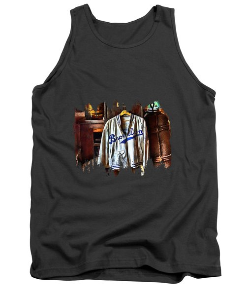 Tank Top featuring the photograph Brooklyn Dodgers Baseball  by Thom Zehrfeld