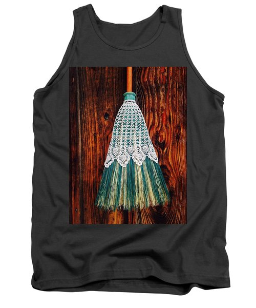 Broom Skirt Tank Top