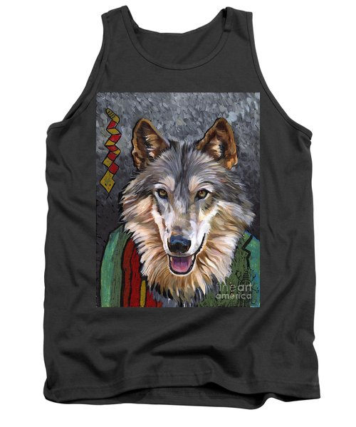 Brother Wolf Tank Top