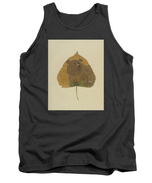 Brow Bear #2 Tank Top by Ralph Root