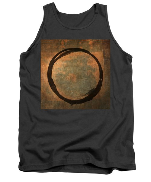 Brown Enso Tank Top