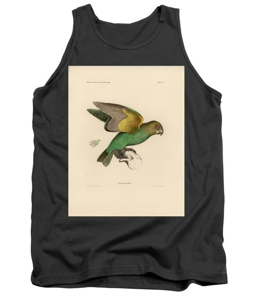 Brown-headed Parrot, Piocephalus Cryptoxanthus Tank Top by J D L Franz Wagner