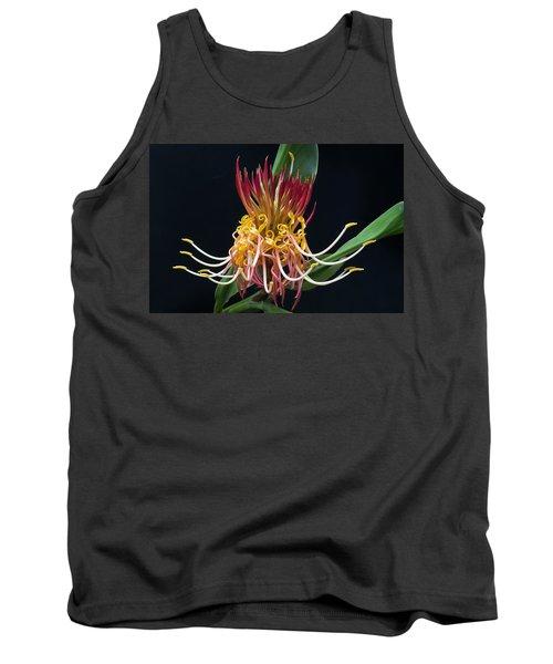 Brownea Macrophylla Tropical Flower Tank Top