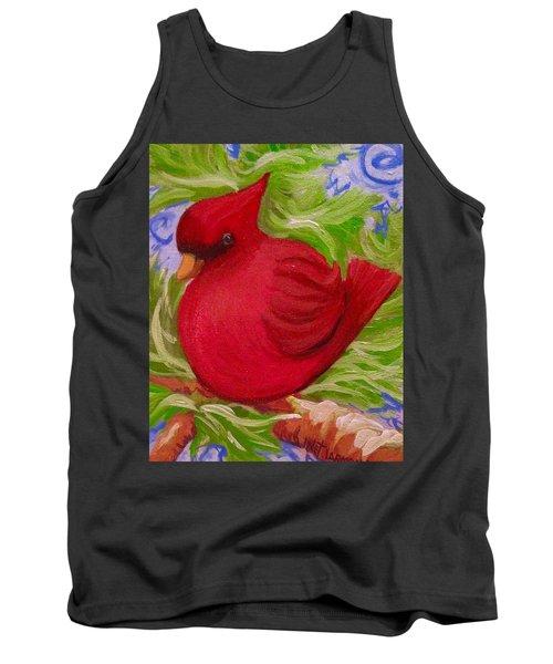 Brrr Bird Tank Top