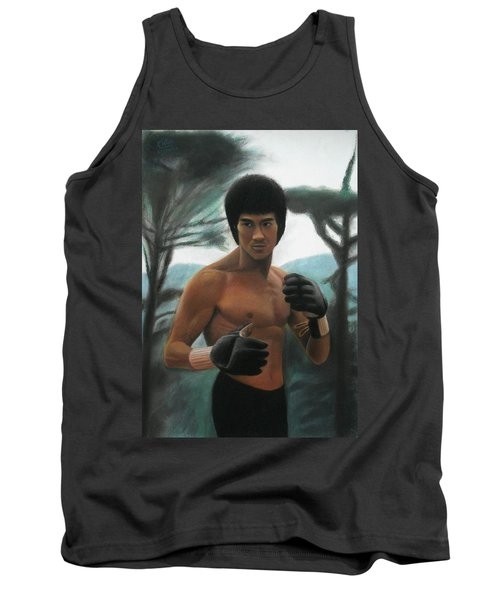 Bruce Lee - The Concentration  Tank Top by Vishvesh Tadsare