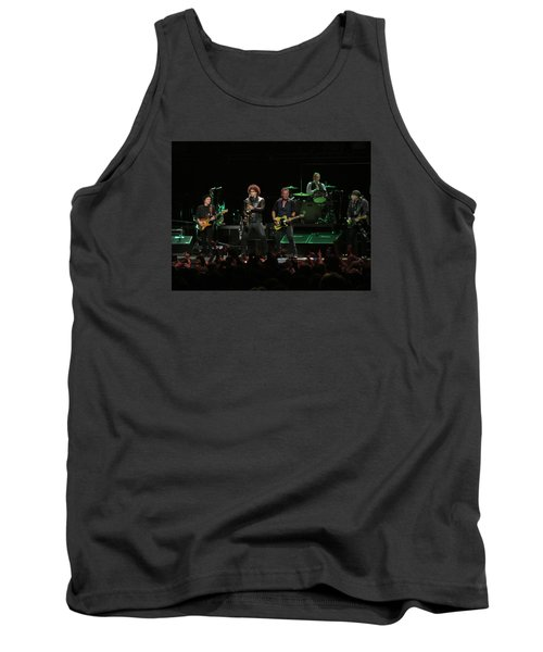 Bruce Springsteen And The E Street Band Tank Top by Melinda Saminski