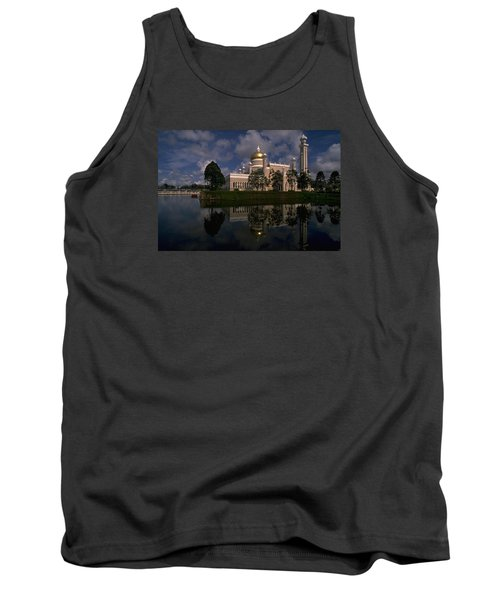 Brunei Mosque Tank Top by Travel Pics