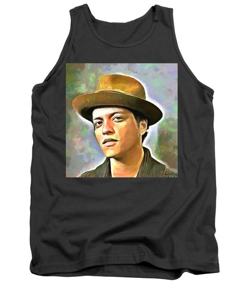 Bruno Mars Tank Top by Wayne Pascall