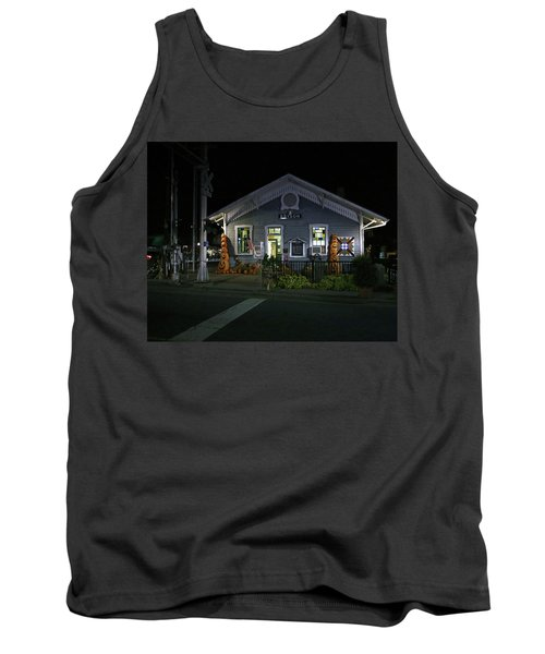 Bryson City Train Station Tank Top by Lamarre Labadie