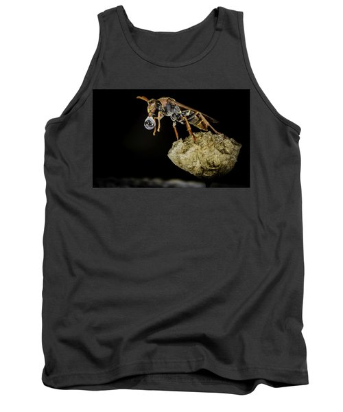 Bubble Blowing Wasp Tank Top