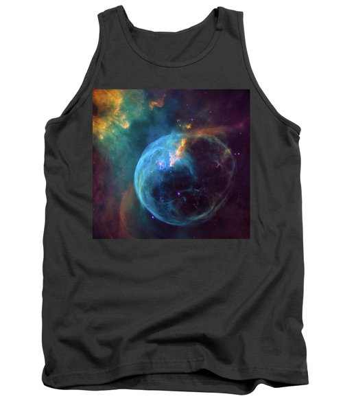 Tank Top featuring the photograph Bubble Nebula by Marco Oliveira