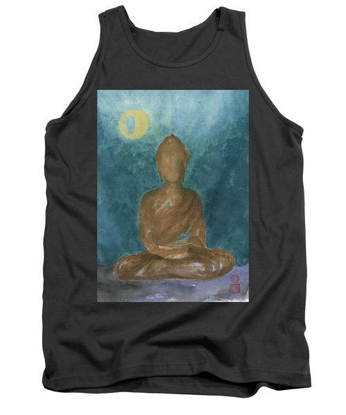 Buddha Abstract Tank Top