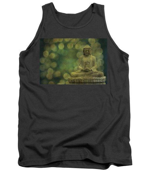 Buddha Light Gold Tank Top