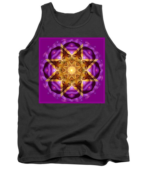 Tank Top featuring the painting Buddha Mandala by Sue Halstenberg
