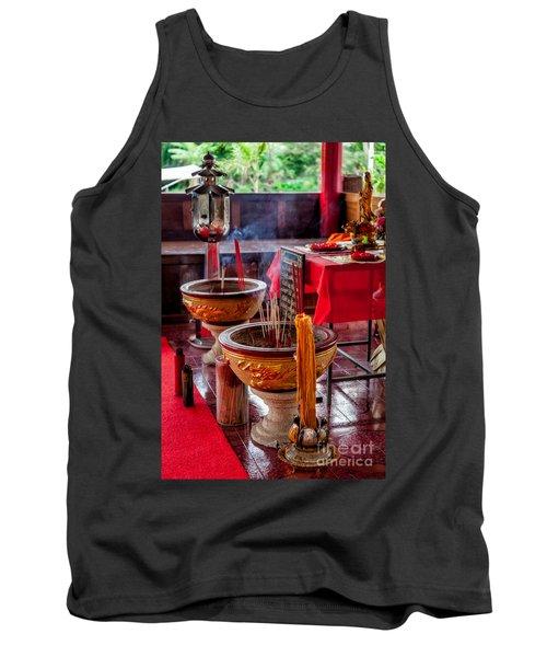 Buddhist Incense Tank Top