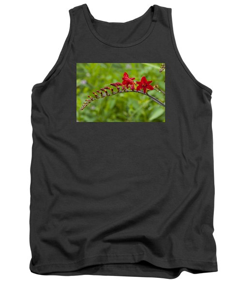 Budding Red Tank Top