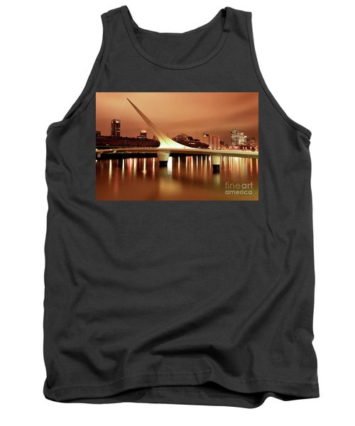 Tank Top featuring the photograph Buenos Aires On Fire by Bernardo Galmarini