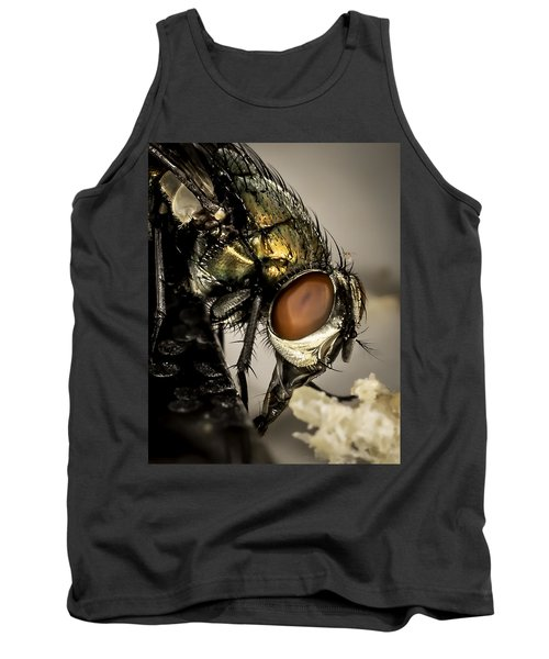 Bug On A Bug Tank Top