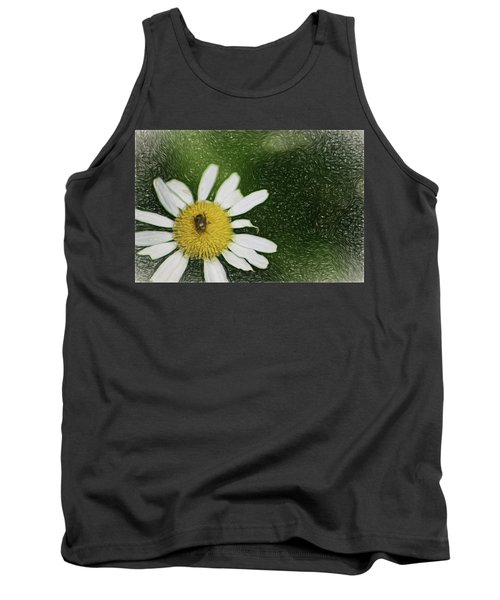Tank Top featuring the digital art Bug Out by Terry Cork
