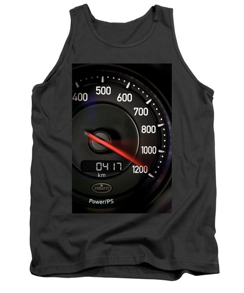 Bugatti Power /ps Tank Top by Sheila Mcdonald