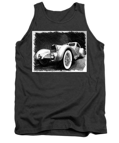 Bugatti Type 57 Aerolithe Tank Top