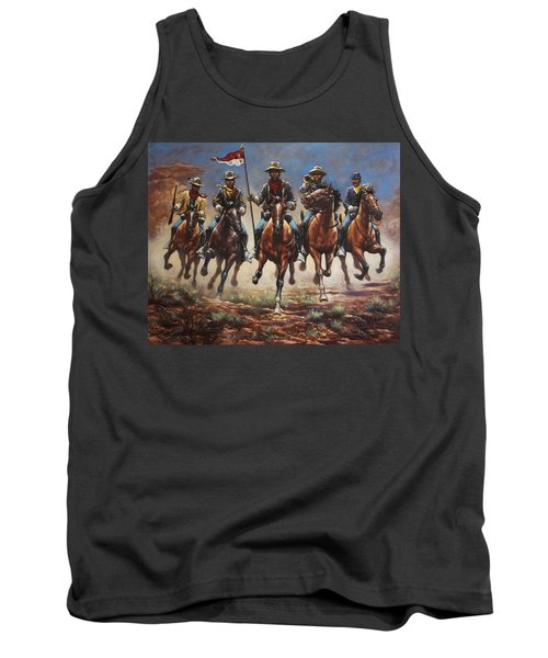 Bugler And The Guidon Tank Top