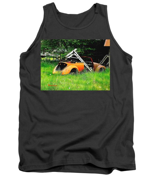 Tank Top featuring the photograph Bugsy by Sadie Reneau
