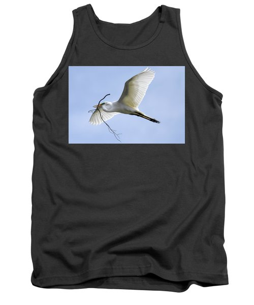Building A Home Tank Top by Gary Wightman