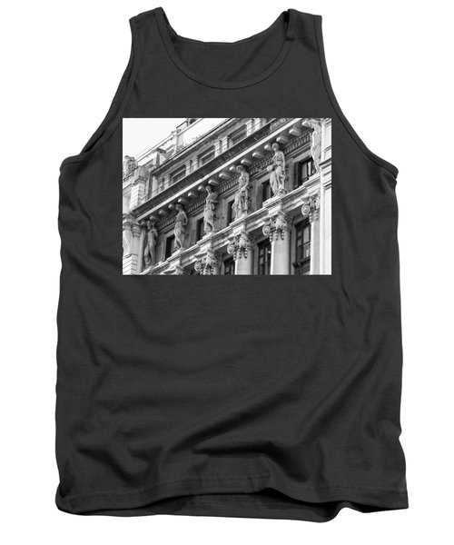 Tank Top featuring the photograph Building by Silvia Bruno