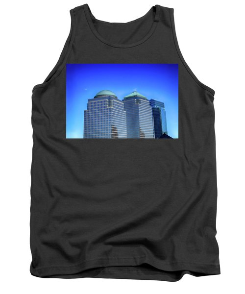 Buildings 2,3,4 In New York's Financial District Tank Top