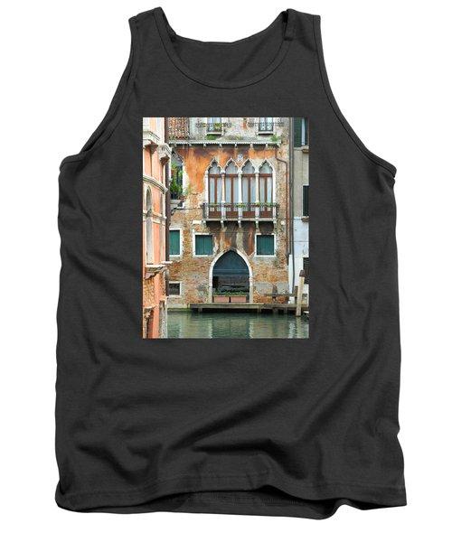 Buildings Of Venice Tank Top by Lisa Boyd