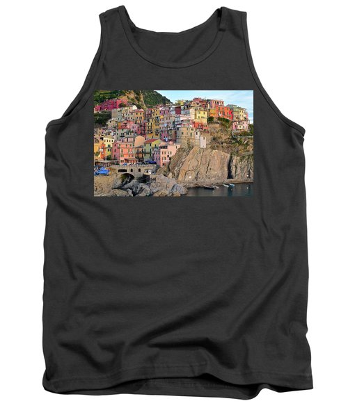 Tank Top featuring the photograph Built On The Slope by Frozen in Time Fine Art Photography