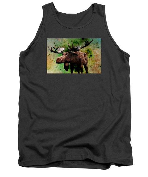 Bull Moose Tank Top by Robin Regan