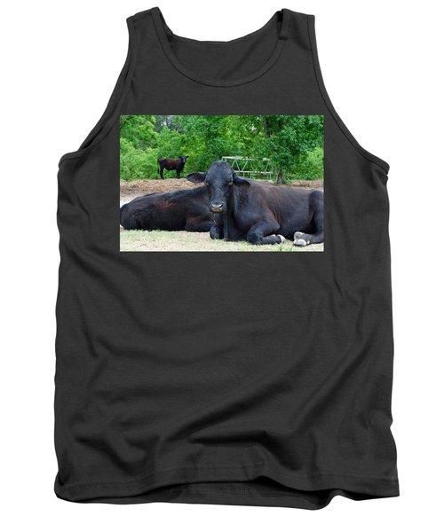 Bull Relaxing Tank Top