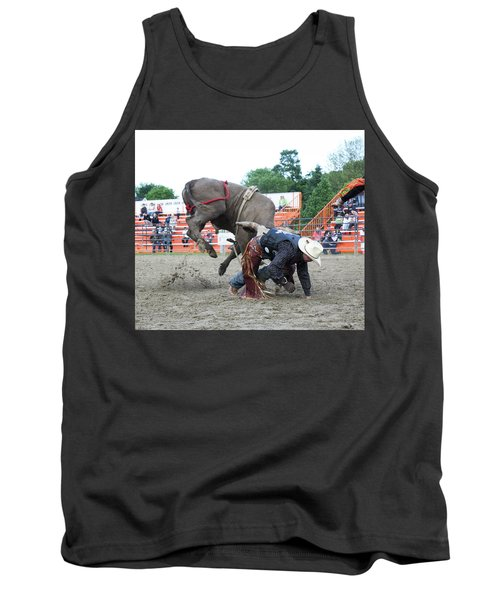 Bull Riding Action Tank Top