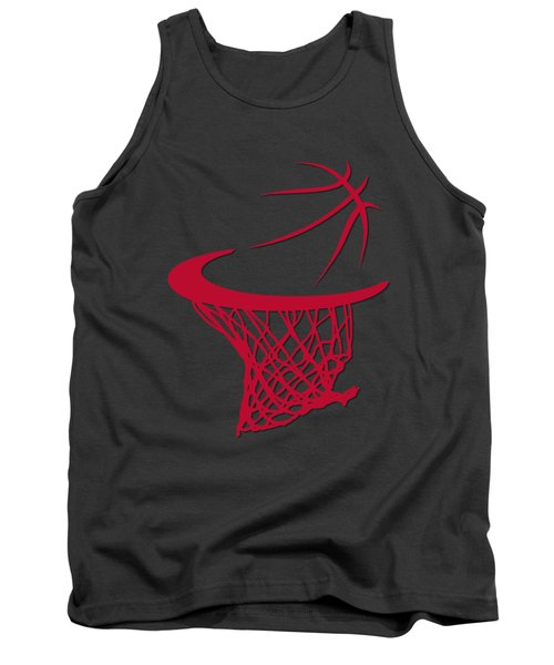 Bulls Basketball Hoop Tank Top by Joe Hamilton