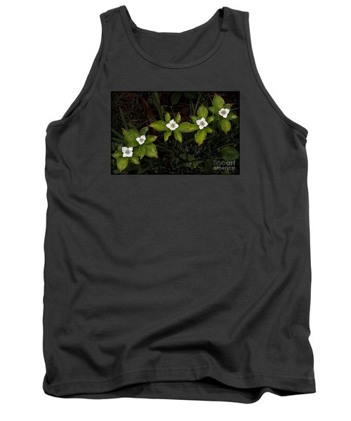 Bunchberry Flowers Tank Top