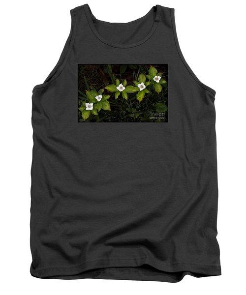 Bunchberry Flowers Tank Top
